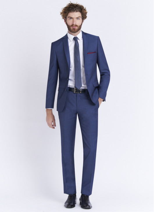 Costume slim fit Stanbridge - 84 - Bleu denim