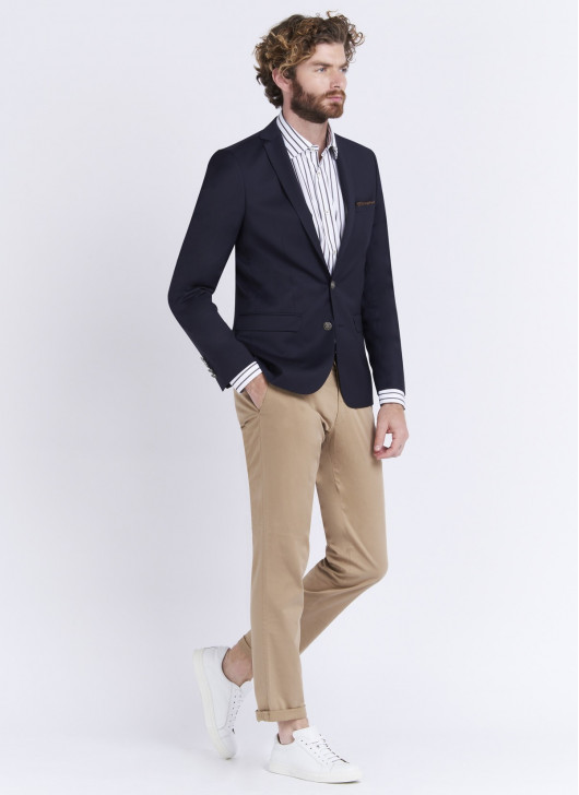 Slim fit jacket by Stanbridge