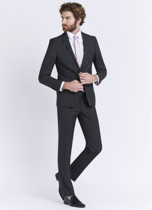 Slim fit suit by Stanbridge - 24 - Anthracite Grey