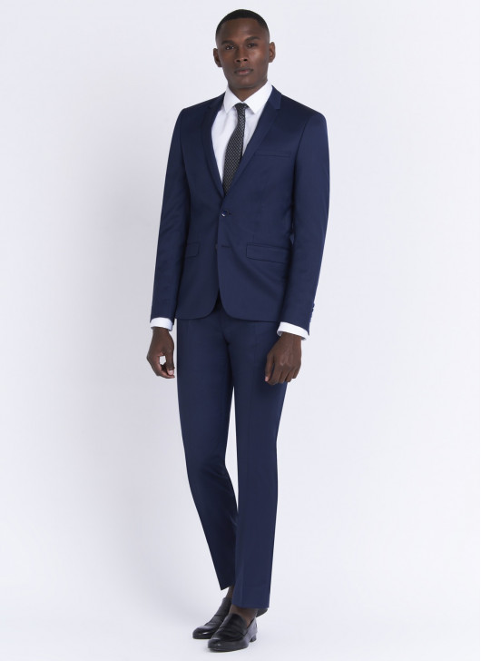 Slim fit suit by Lanificio F.LLI Cerruti DAL 1881 - 89 - Midnight Blue