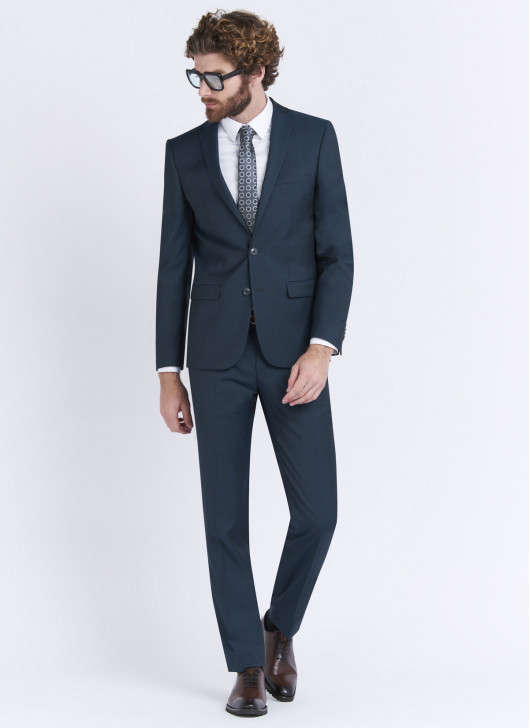 Slim fit suit by Stanbridge - 95 - Vert Anglais