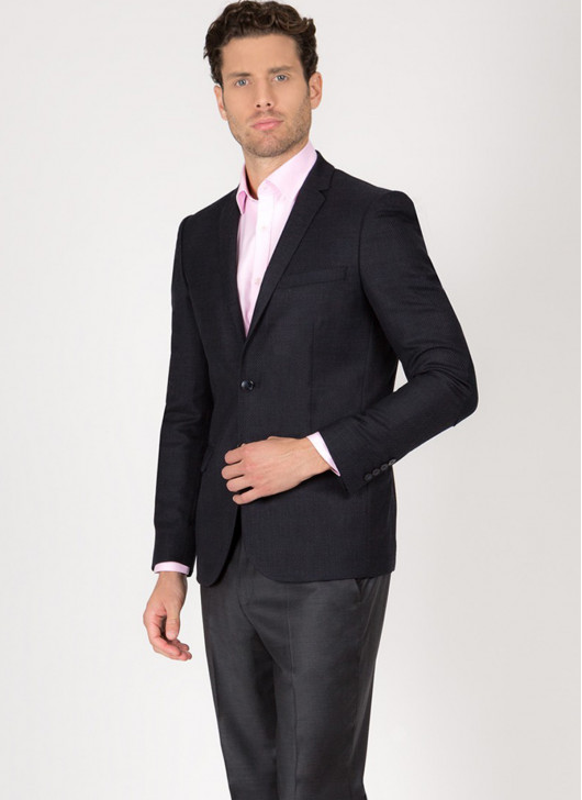 Slim fit suit T.G di Fabio - 24 - Anthracite Grey