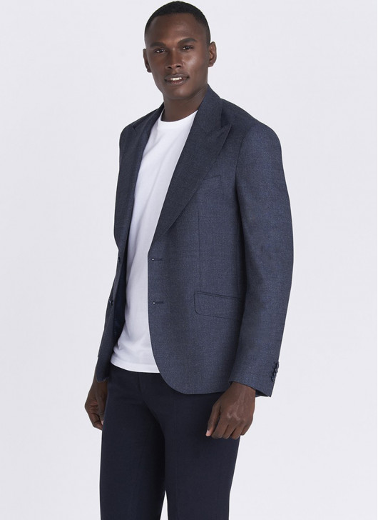 Lanificio F.LLI Cerruti DAL 1881 Slim fit jacket - 88 - Navy Blue