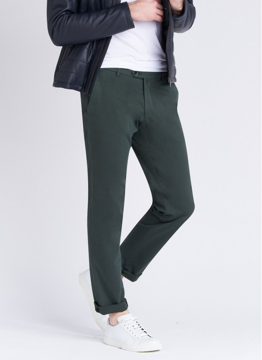 Stanbridge chino pants - 93 - Khaki