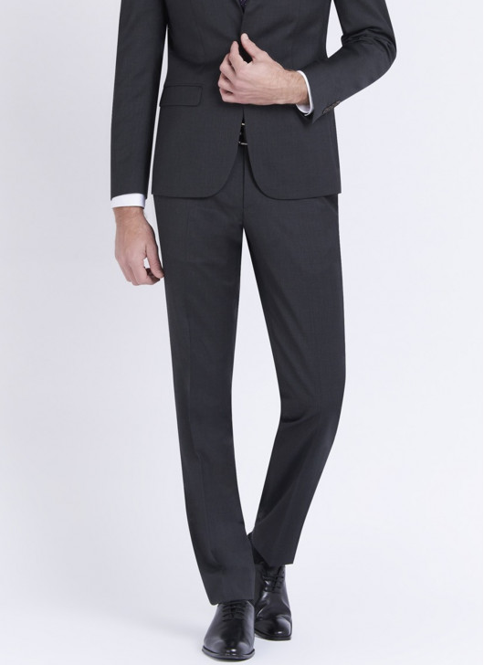 Slim fit trousers by Stanbridge - 24 - Anthracite Grey