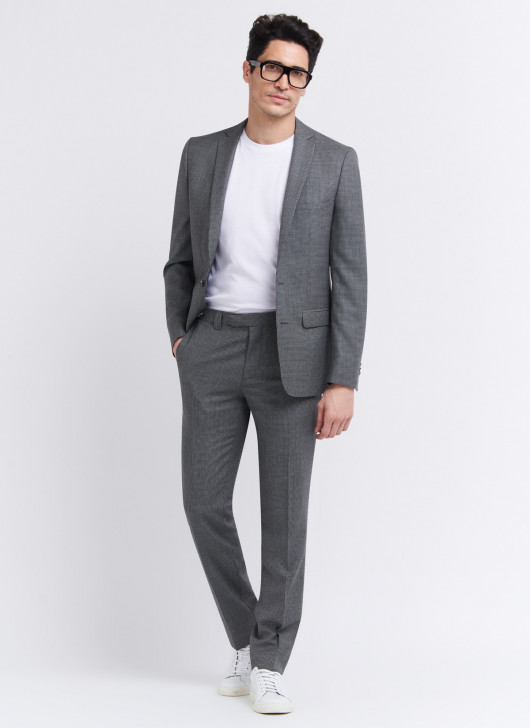 Costume slim fit Stanbridge - 23 - Gris foncé
