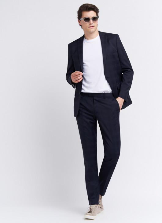 Costume slim fit Stanbridge - 88 - Bleu marine