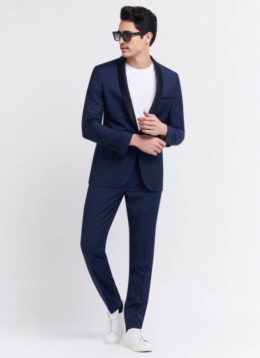 Smoking slim fit Stanbridge - 89 - Bleu nuit