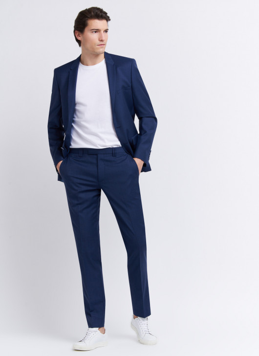 Slim fit suit by Cloth Ermenegildo Zegna