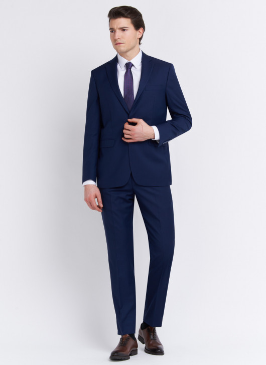 Regular fit suit by Cloth Ermenegildo Zegna - 89 - Midnight Blue