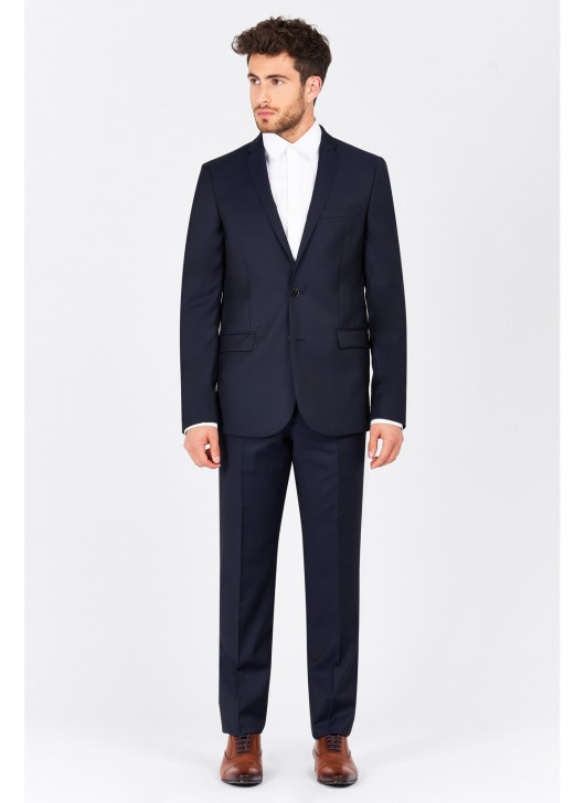 Slim Fit Suit T.G di Fabio - 89 - Midnight Blue