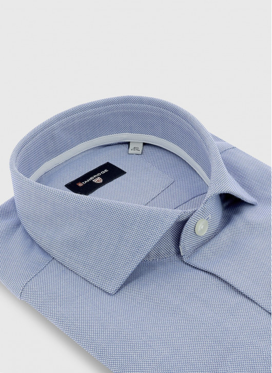 Slim fit shirt en tissus Oxford