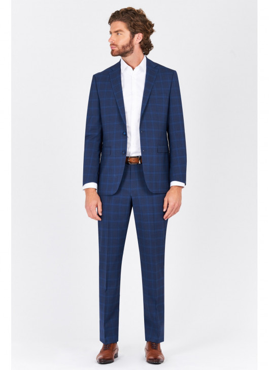 Regular fit suit Lanificio F.ILLI Cerruti DAL 1881 - 83 - Blue