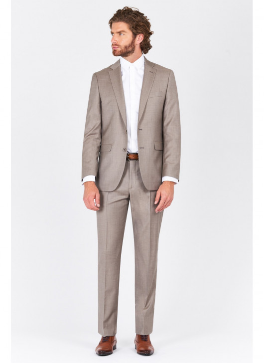 Regular fit suit Lanificio F.ILLI Cerruti DAL 1881 - 31 - Light Beige