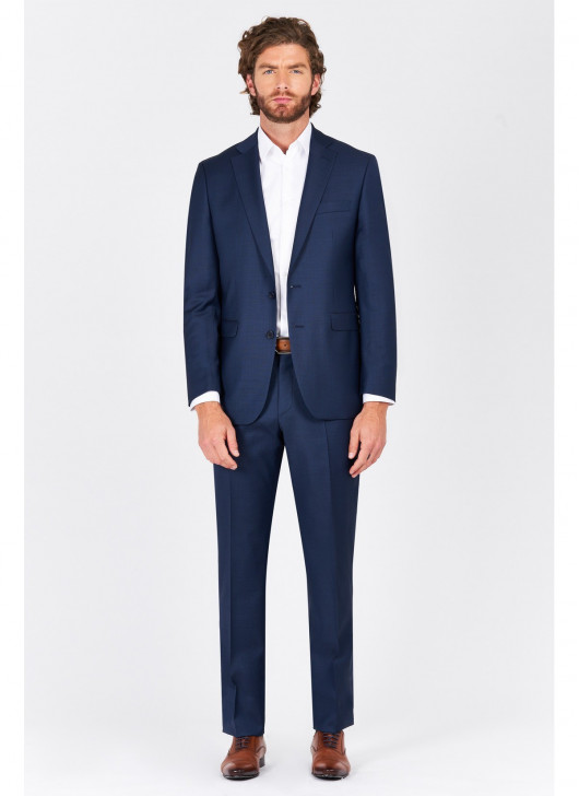 Costume regular fit Lanificio F.ILLI Cerruti DAL 1881 - 83 - Bleu