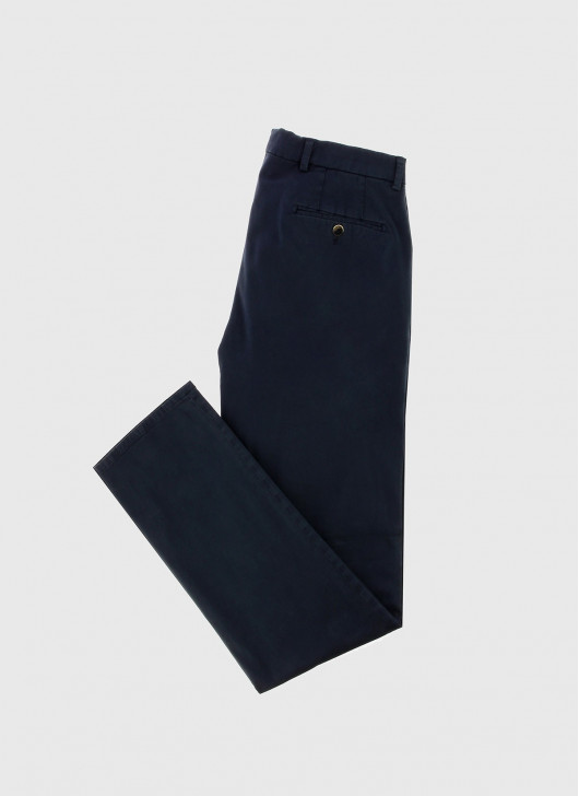 Pantalon chino Stanbridge - 88 - Bleu marine