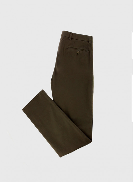 Pantalon chino Stanbridge - 35 - Marron