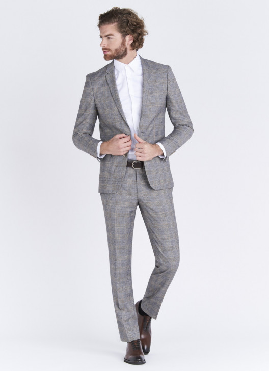Lanificio F.LLI Cerruti DAL 1881 Slim fit suit - 21 - Pearl Grey