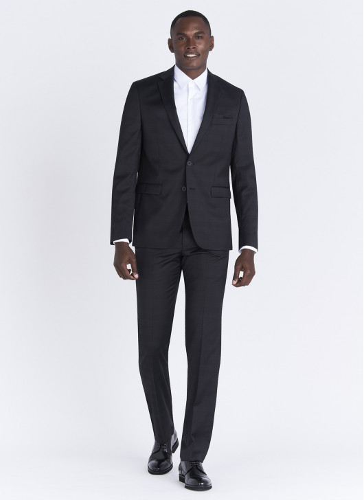 Lanificio F.LLI Cerruti DAL 1881 Regular fit suit - 01 - Black