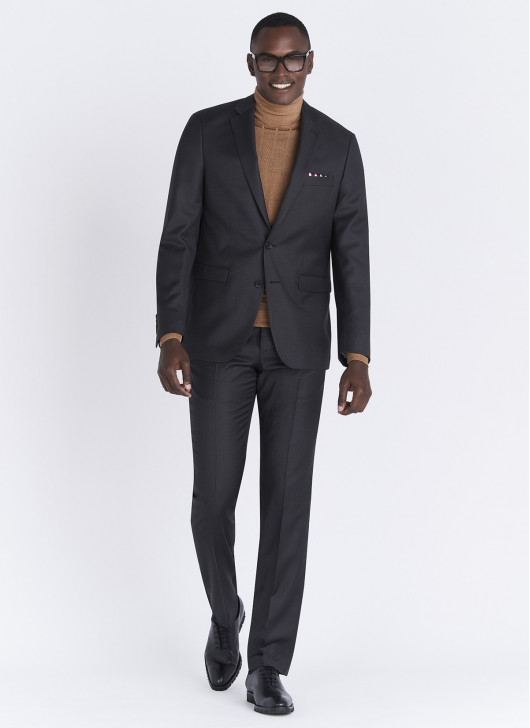 Regular fit suit Lanificio F.LLI Cerruti DAL 1881 - 24 - Anthracite Grey