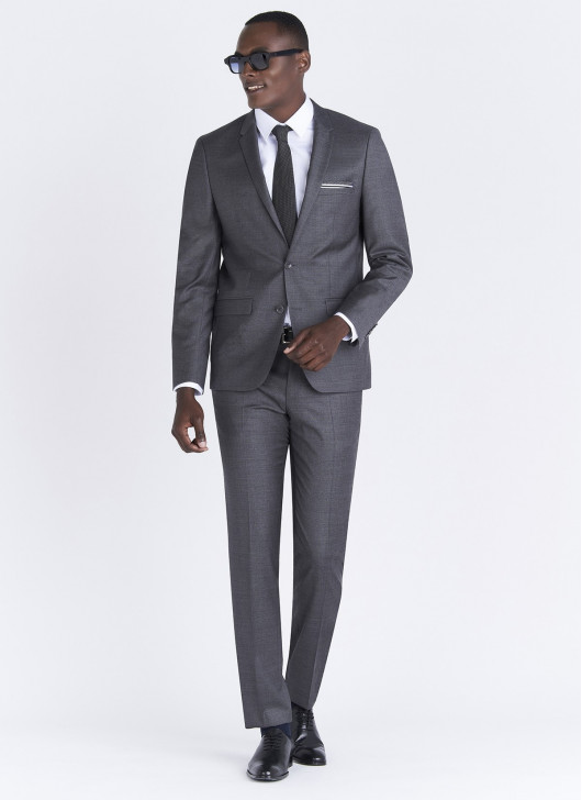 Lanificio F.LLI Cerruti DAL 1881 Slim fit suit - 23 - Dark Grey