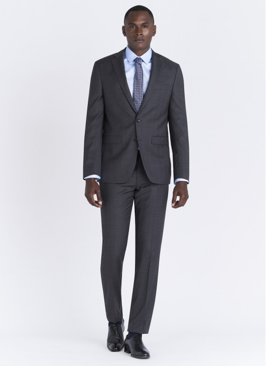 Lanificio F.LLI Cerruti DAL 1881 Regular fit suit - 24 - Anthracite Grey