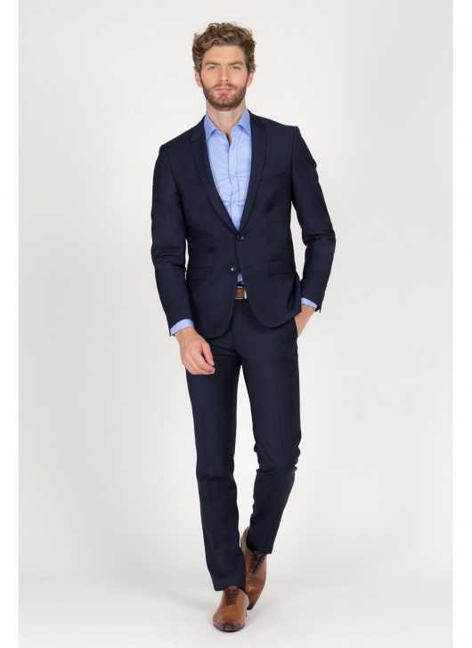 Ermenegildo Zegna - Slim Fit - 88 - Navy Blue