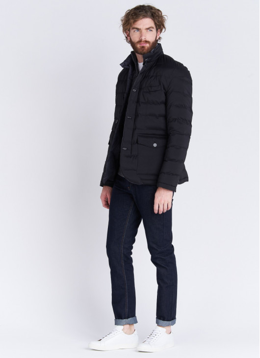 High neck Down jacket Emmanuelle Khanh - 01 - Black