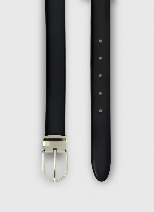 Leather belt Stanbridge - 24 - Anthracite Grey