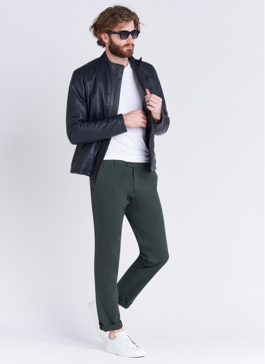 Pantalon chino Stanbridge - 93 - Kaki