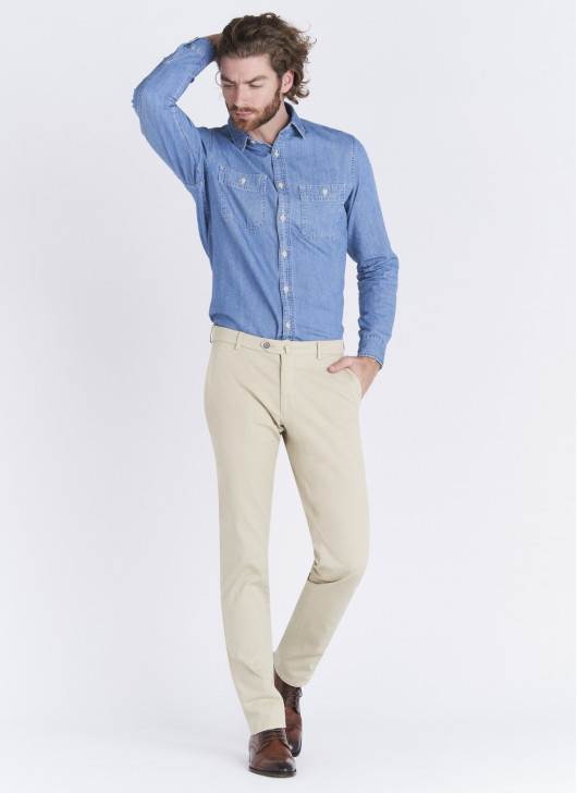 Pantalon chino Stanbridge - 32 - Beige