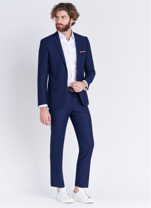 Slim fit suit Stanbridge - 83 - Blue