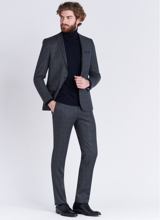 Costume slim fit Stanbridge - 24 - Gris anthracite