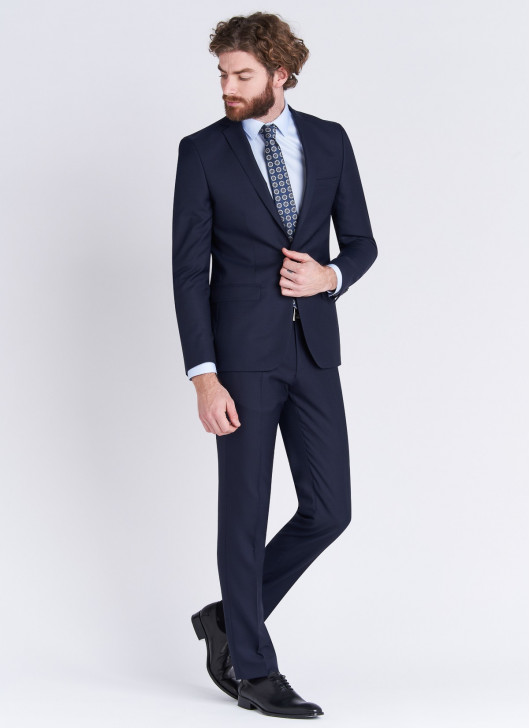 Slim fit suit Stanbridge - 88 - Navy Blue