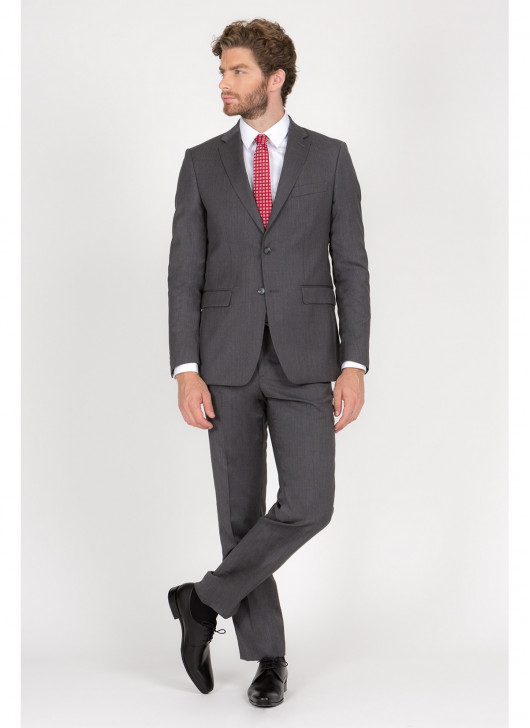 Regular fit suit T.G di Fabio - 23 - Dark Grey