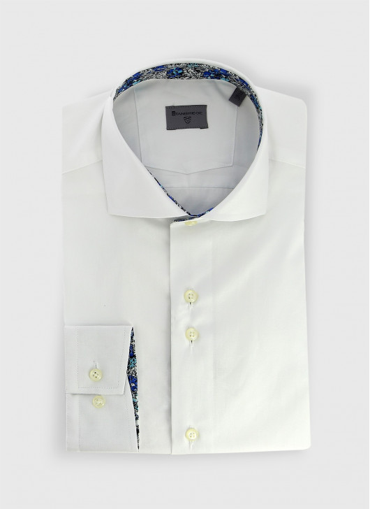 Italian collar slim shirt Stanbridge
