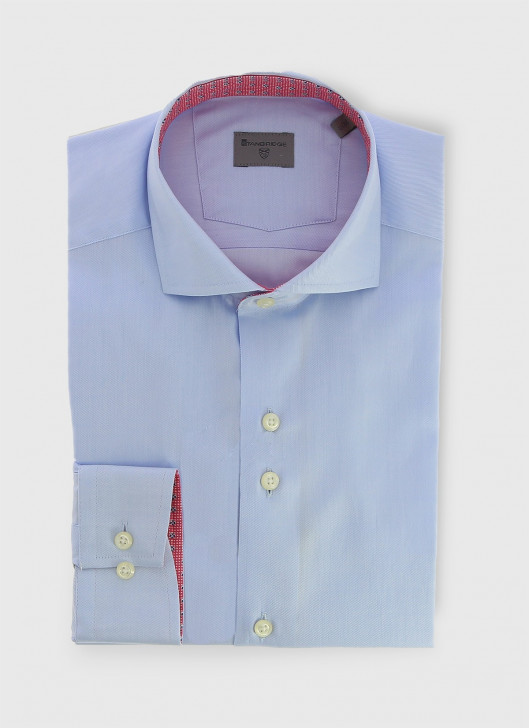 Italian collar slim shirt Stanbridge - 81 - Sky Blue