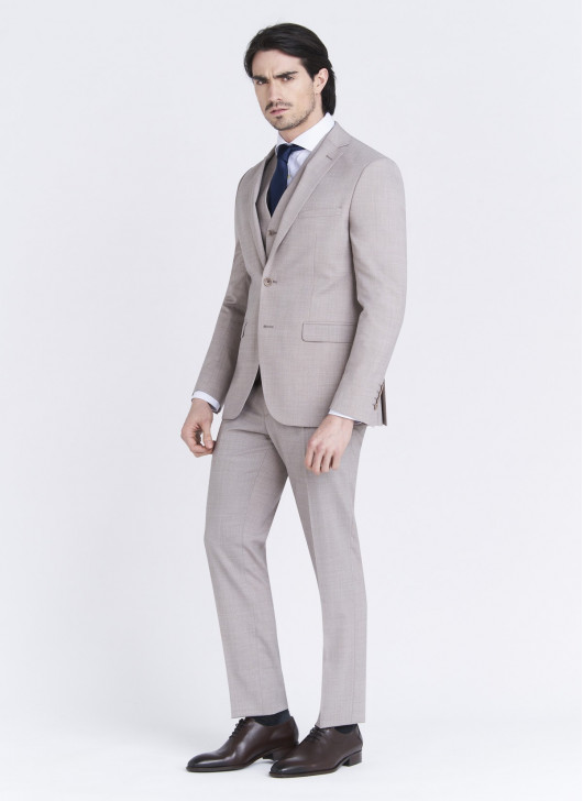 Slim fit suit Lanificio F.LLI Cerruti DAL 1881 - 13 - Nude