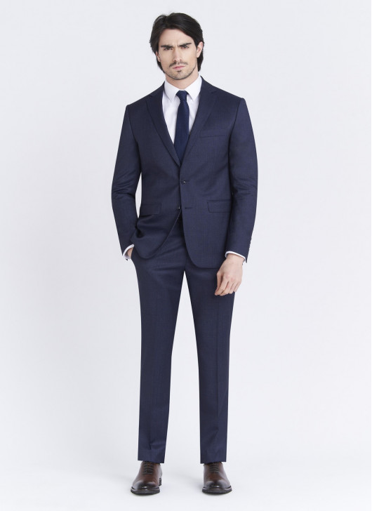 Costume Regular fit Lanificio F.LLI Cerruti DAL 1881 - 89 - Bleu nuit
